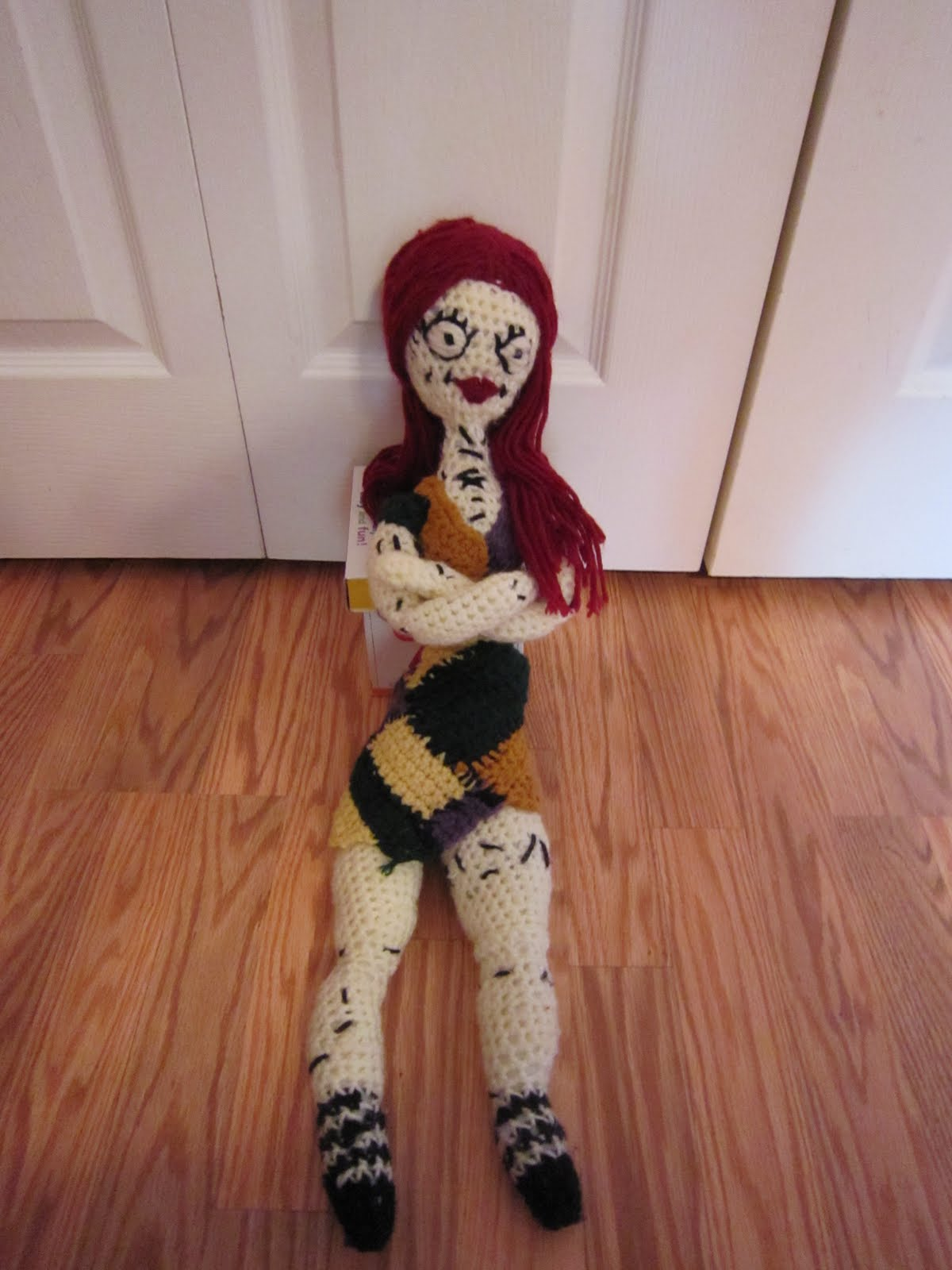 In My Pajamas: Nightmare Before Christmas Sally Doll