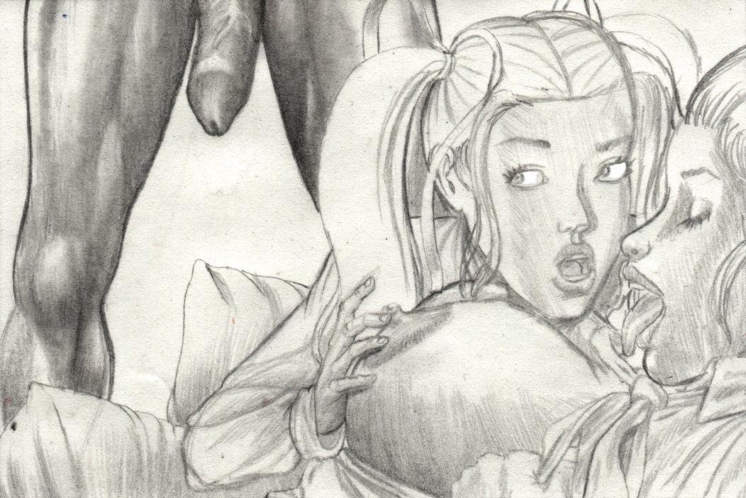Adults Only Comic Art: Molly & Erica ? Enter Sean