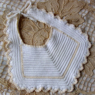 BABY BIB CROCHETED PATTERN Crochet Patterns