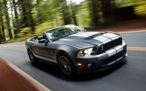 2011 Ford Mustang Shelby Nice view