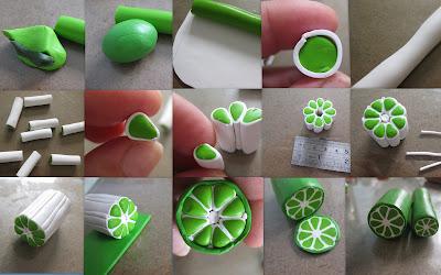 Как сделать салатовый цвет из пластилина