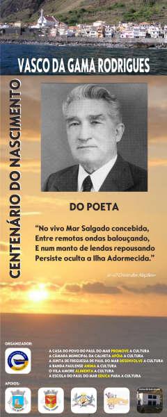Centenário do Nascimento do Poeta - VGR