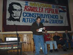 26/4/2008 - 2º Aniversario de La Asamblea Popular - AVANZAR anuncia su retiro del Frente Amplio