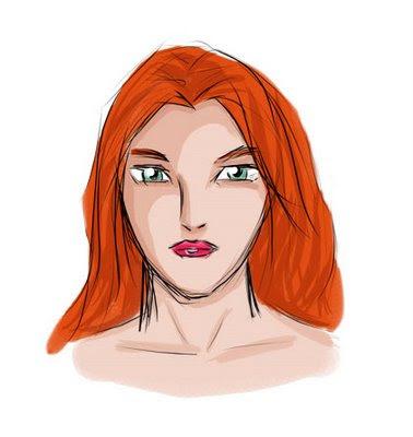 "Dibujo ""Mujer"" en Photoshop"