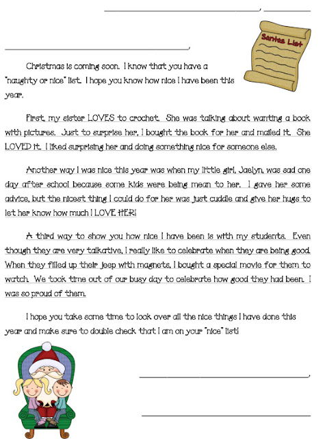 Elf On The Shelf Letter Template Nd Year