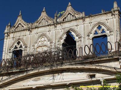 Fachada de la antigua hacienda en San José de Gracia