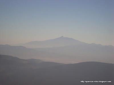 Desde el segundo geocache se ve el Nevado de Colima y la laguna de Chapala, en Cerro Viejo