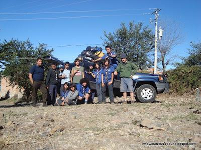 Listos para el regreso a Guadalajara, fin de la volanta a Cerro Viejo