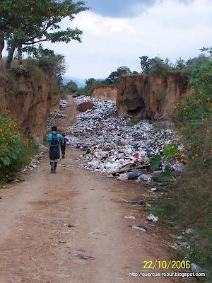Tuvimos que pasar por el basurero de Amatitán!