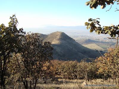 Nuestro camino por la costilla del Cerro