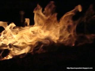 Arde fuego arde! La fogata