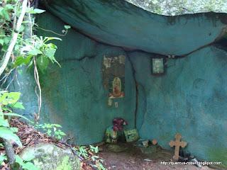 Un lugar de meditación al lado del arroyo el Carrizal