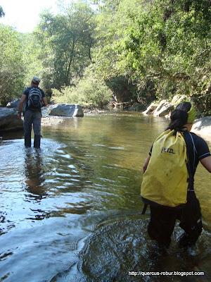 Cruzando el río de agua fría - Chiquilistlán