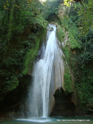 Cascada Chuveje en Sierra Gorda