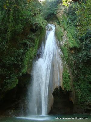 Cascada Chuveje en Sierra Gorda