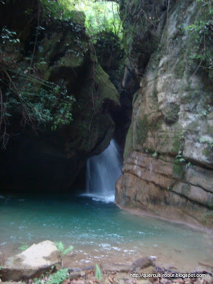 Cascada en barranco Chuveje