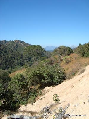 Barranco en la carretera a Vallarta