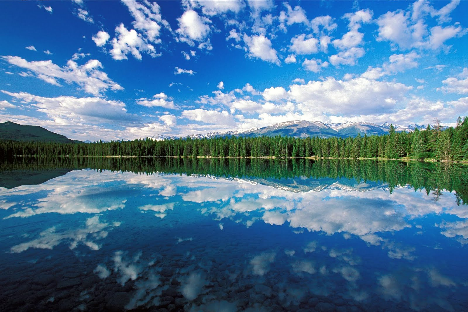 edith lake jasper national park canada Wallpapers HD - edith lake jasper national park canada wallpapers