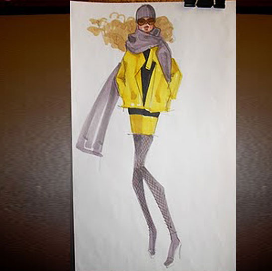 fashion illustration tutorial luxe gifts step by step fashion illustration tutorial