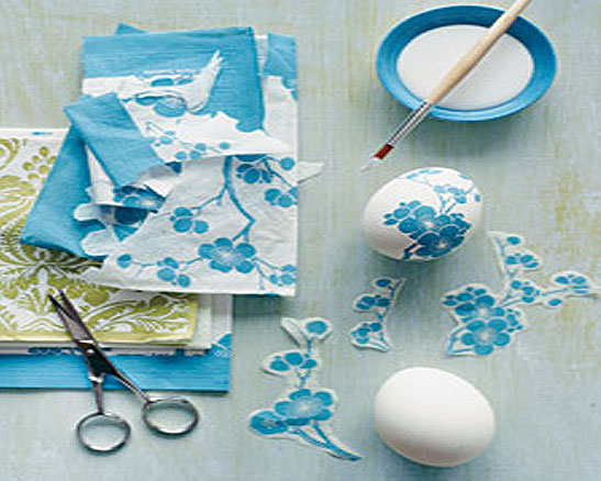 Paper Napkin Decoupage How To