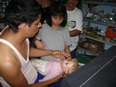 muñeca peruana que llora sangre