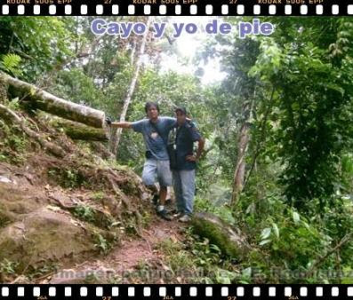 caminata a la cascada del rio shilcayo
