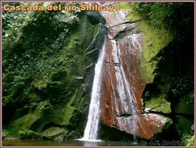 primera cascada del rio shilcayo