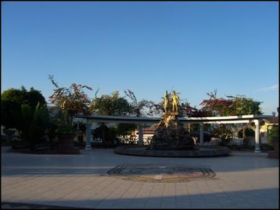 plaza de armas de lamas (peru)