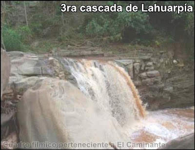 tercera cascada de lahuarpia en epoca lluviosa (moyobamba)