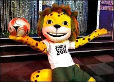 zakumi, mascota oficial del mundial de futbol sudafrica 2010