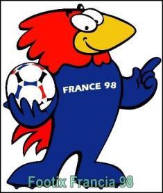 footix de francia, mascota de mundial