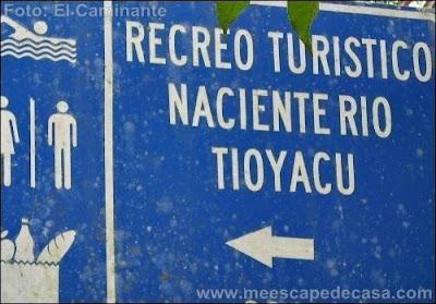 Entrada a Tioyacu (Rioja, Perú)