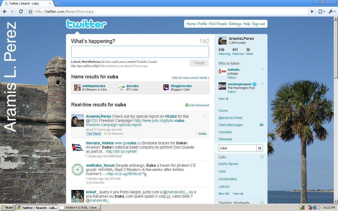 Cuba Top Tweet
