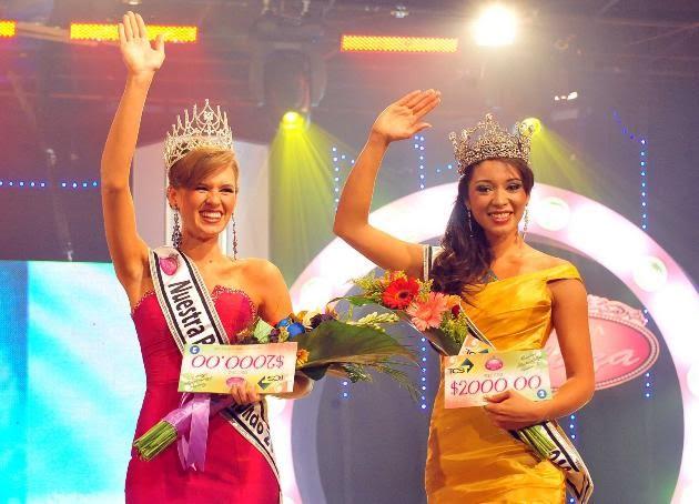 miss nuestra belleza el salvador 2011 contestants delegates candidates