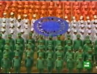 Fir Mile Sur…  – A tribute to India or Bollywood?
