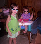 "Josephine and Maureen looking ""cool"""