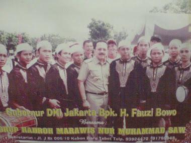marawis NURMUHAMMAD SAW dengan bpk faujibowo