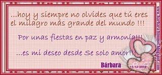 ...Gracias Bárbara.