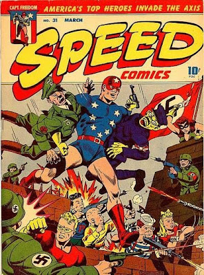 I'm not 100% sure what's going on here, but check out the proto-Aparo-effect on the Ratzi in the bottom left corner.