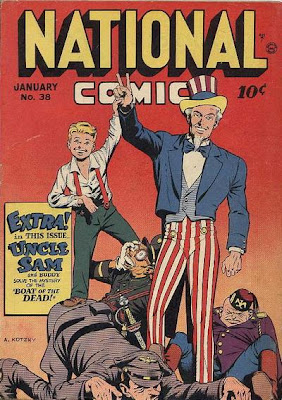 Did anyone else kick more ass while wearing vertically-striped pants than Uncle Sam? Don't say 'The Destroyer;' it was a rhetorical question.