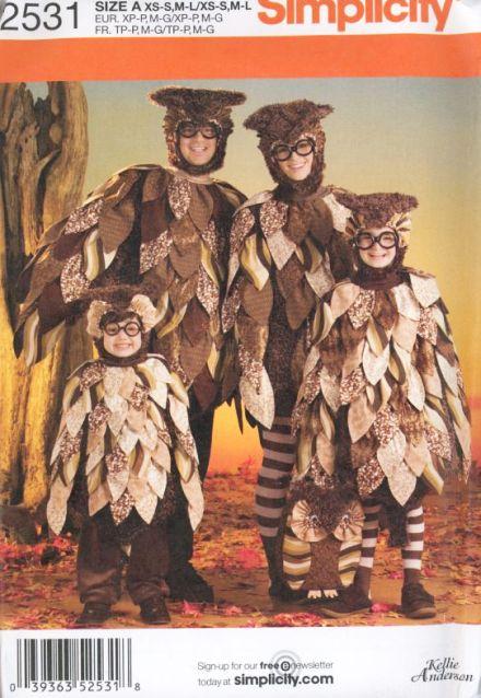 Костюм совы для взрослых