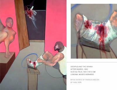 Francis Bacon in mostra con Edipo e La Sfinge