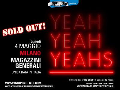 Magazzini Generali Milano - Yeah yeah yeahs