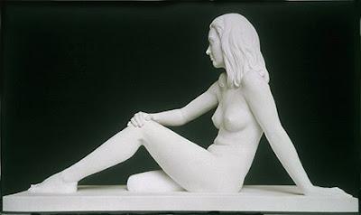 scultura di donna nuda, Marc Quinn