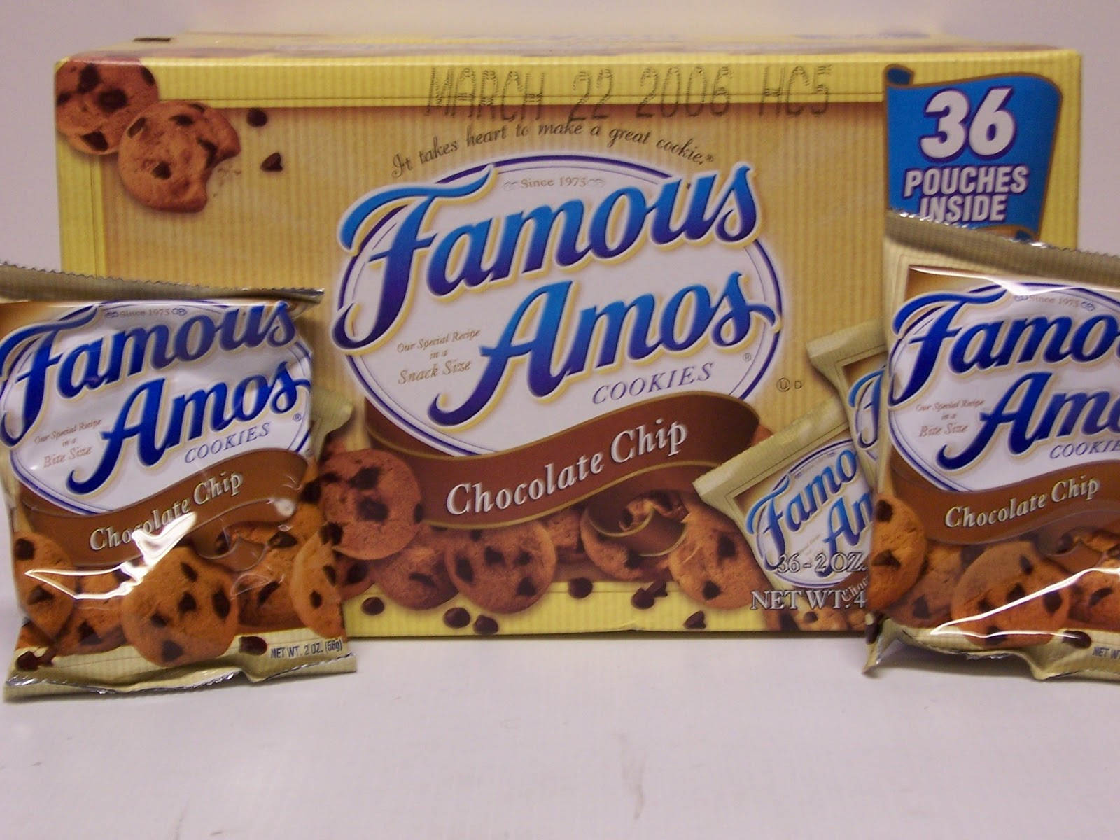 Worksheet Famous Amos images famous amos before wally bamosb became bfamous
