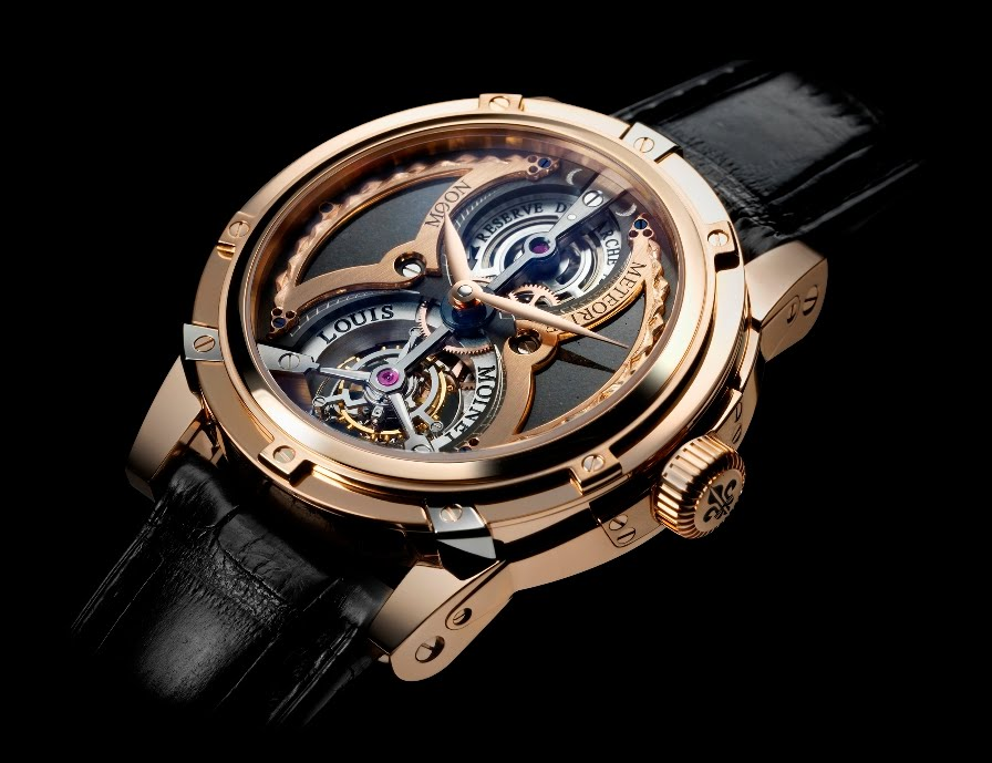 Meteoris by louis moinet astronomical watches for astronomical price daily deals for Louis moinet watch