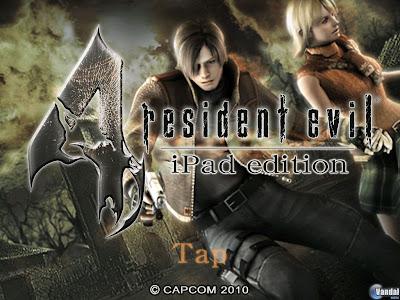 Resident Evil 4 para el iPad