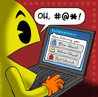 El twitter de Pac-Man