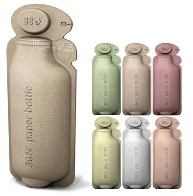 Botellas de papel