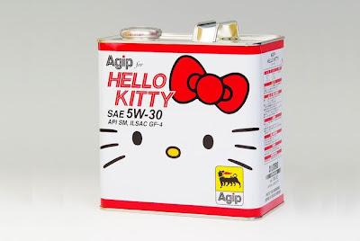 Aceite de motor Hello Kitty